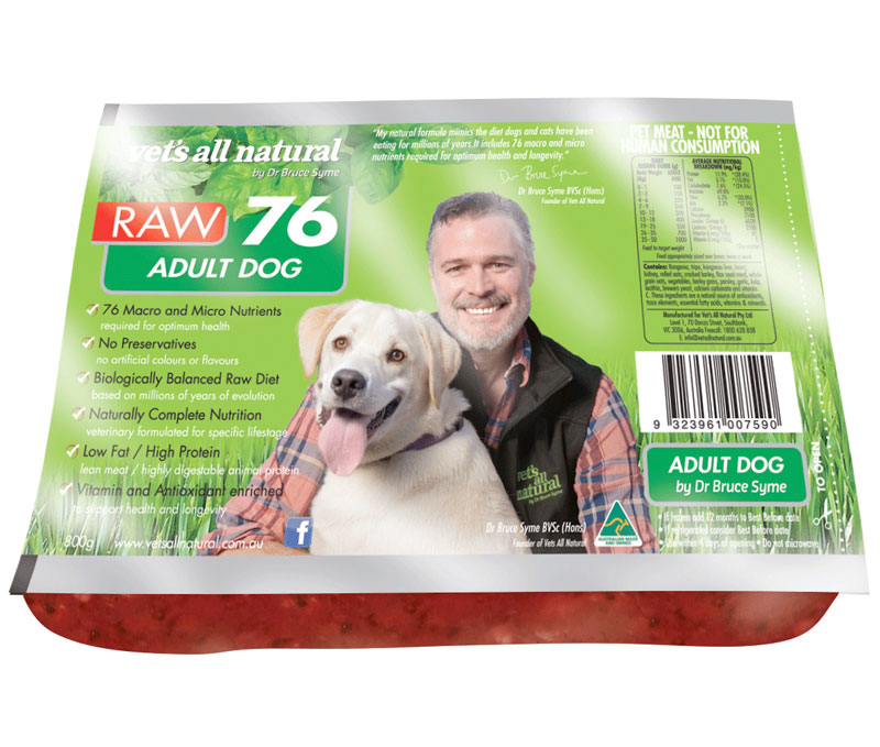 All Natural Preservative Free Dog Food